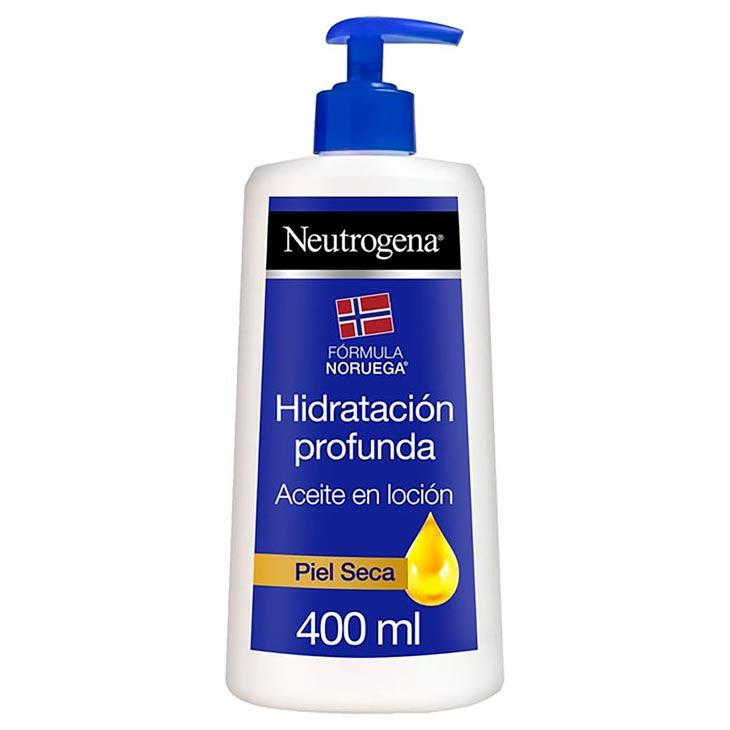 Neutrogena Corporal Hidratación Profunda Aceite Loción 400 ml