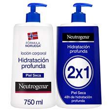 Neutrogena Corporal Hidratación Profunda Loción 2 x 750 ml