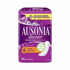 Ausonia Discreet Extra Compresa 20 uds