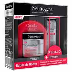 Neutrogena Cellular Boost Pack Crema De Noche 50 ml+ Contorno Ojos 15 ml