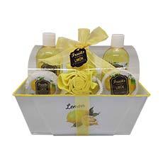 Perfumania Set de Baño Limón 6 piezas