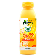 Fructis Hair Food Banana Champú Ultra Nutritivo 350 ml