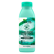 Fructis Hair Food Aloe Vera Champú Hidratante 350 ml