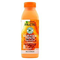 Fructis Hair Food Papaya Champú Reparador 350 ml