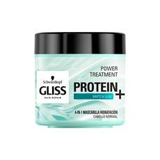 Gliss Protein+ Manteca Cacao Mascarilla Hidratación 400 ml