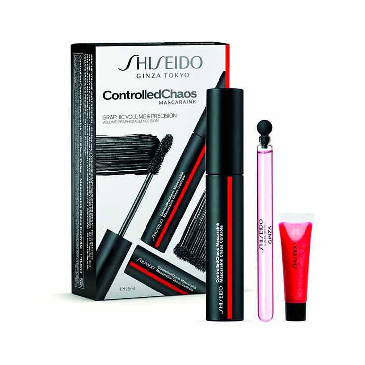 Shiseido ControlledChaos Estuche 3 Piezas