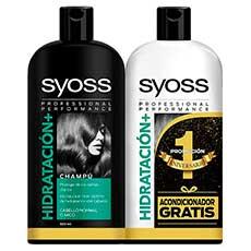 Syoss Hidratación Set Champú 440 ml + Acondicionador 440 ml