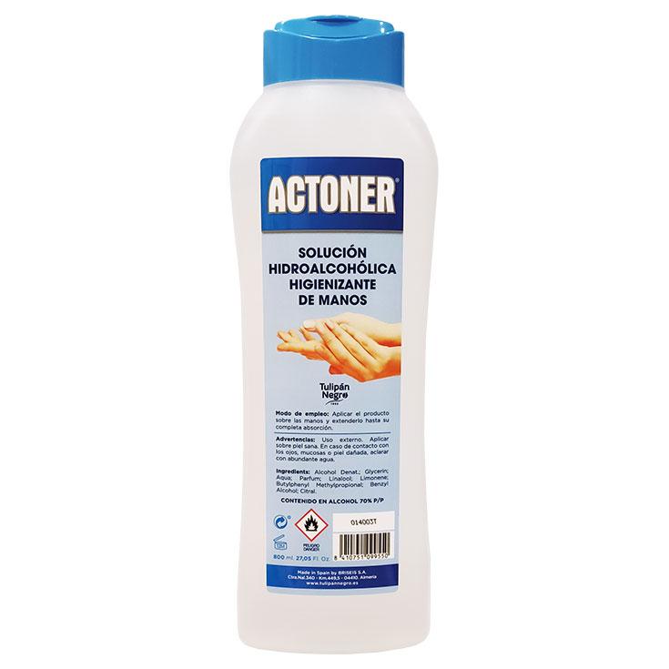 Actoner Solución Hidroalcohólica Higienizante de Manos 800 ml