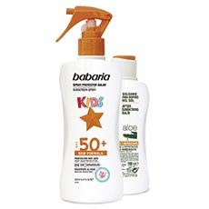 Babaria Kids Protector Solar Spf50+ 200 ml + After Sun 100 ml