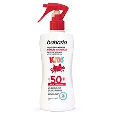 Babaria Kids Solar Infantil Pieles Atópicas y Sensibles Spf50+ Spray