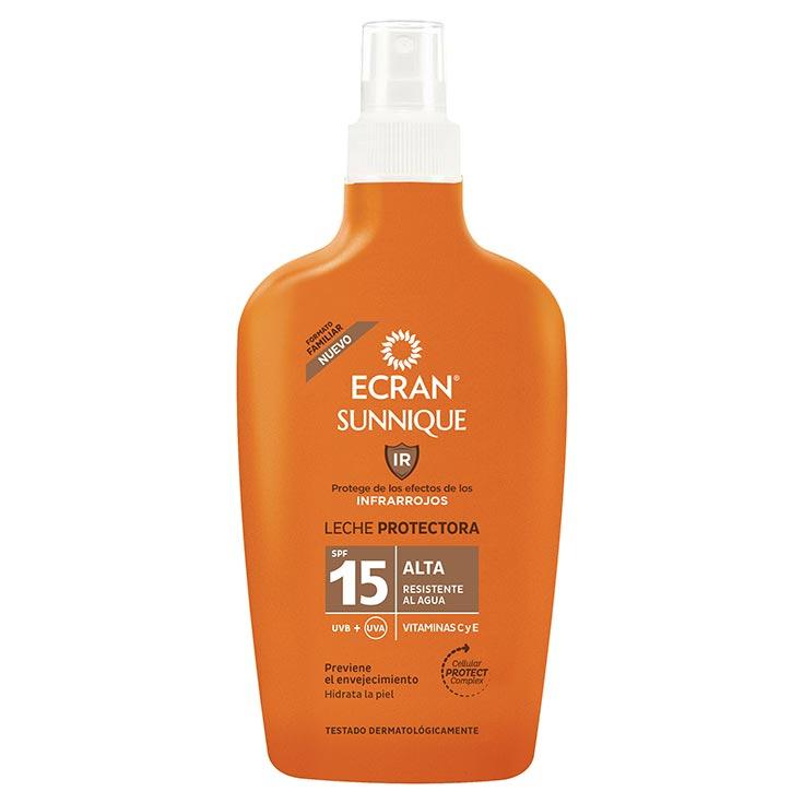 Ecran Sunnique Leche Protectora SPF15 Spray 200 ml