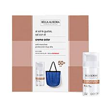 Bella Aurora CC Cream anti-manchas SPF50 30ml Estuche 2 Piezas