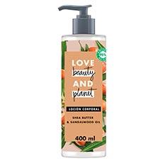 Love Beauty and Planet Manteca de Karité y Sándalo Body Lotion Shea Velvet 400 ml