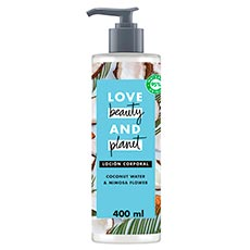 Love Beauty and Planet Agua de Coco y Flor de Mimosa Body Lotion Luscious Hydration 400 ml