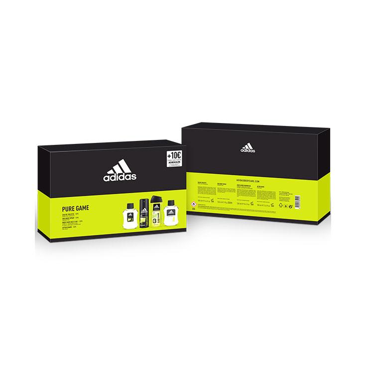Adidas Pure Game Estuche 4 Piezas