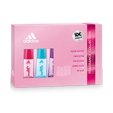 Adidas Fragance Collection Estuche 4 Piezas