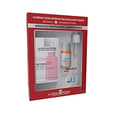 La Roche Posay Set Serum Retinol B3 30 ml + Serum Pure Vitamine C10 10 ml