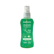 Babaria Spray Manos Higienizante Aloe 100 ml