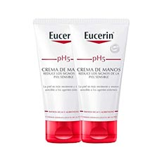 Eucerin pH5 Crema de Manos 2 x 75 ml