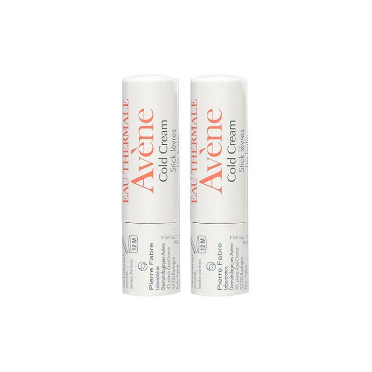 Avène Cold Cream Stick Labial 2 x 4 g