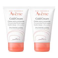 Avène Cold Cream Crema de Manos Concentrada 2 x 50 ml