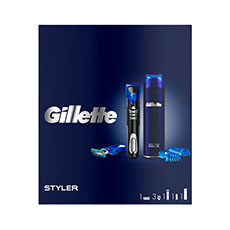Gillette Set Maquinilla Styler + Gel de Afeitar Spray 200 ml