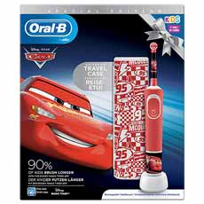 Oral-B Pack Cepillo Vitality Kids Cars + Funda de Viaje