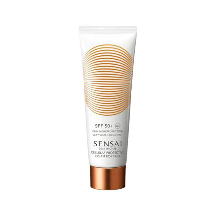 Sensai Silky Bronze Cellular Protective Cream For Face SPF 50+ 50 ml