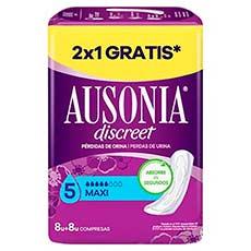 Ausonia Discreet Pérdidas de Orina Maxi