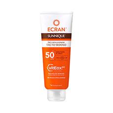Ecran Sunnique Gel Crema Tacto Sedoso Spf50 250 ml