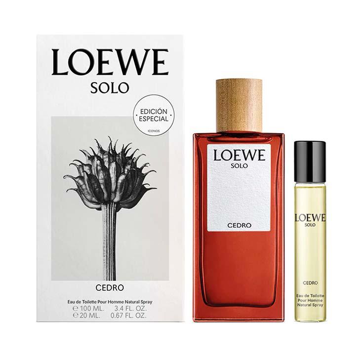Loewe Solo Cedro Fragancia para Hombre Set