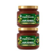 Garnier Original Remedies Mascarilla Oliva Duplo 2 x 300 ml