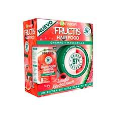 Fructis Hair Food Sandía Revitalizante Cofre Champú 350 ml + Mascarilla 390 ml