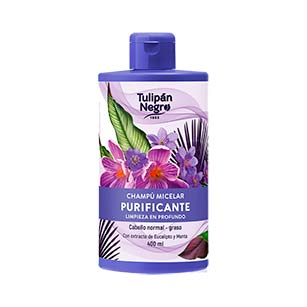 Tulipán Negro Champú Micelar Purificante 400 ml