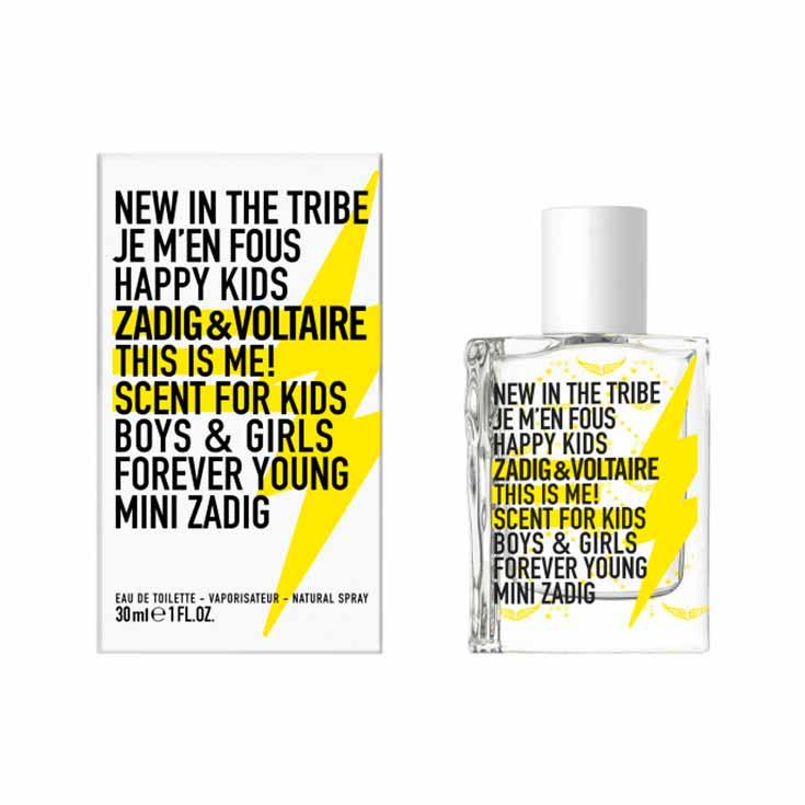 Zadig & Voltaire This is us! Kids Infantil Eau de Toilette 30 ml