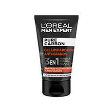 L'Oréal Paris Men Expert Pure Carbon Gel Limpiador Anti-granos