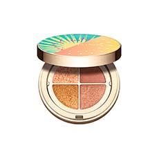 Clarins Ombre 4 Couleurs Golden Hour Gradation Paleta Sombras De Ojos Edición Limitada