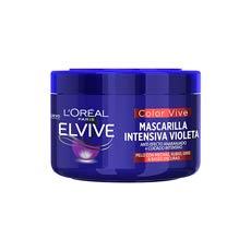 Elvive Color Vive Anti-Efecto Anaranjado Mascarilla Intensiva Violeta 250 ml