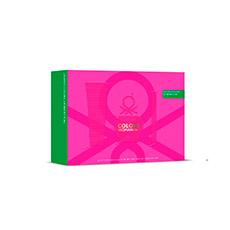 Benetton Woman Colors Pink Estuche 3 piezas