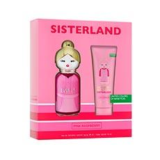 Benetton Sisterland Pink Raspberry Estuche 2 piezas