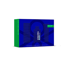 Benetton Man Colors Blue Estuche 3 piezas