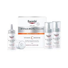 Eucerin Hyaluron Filler Vitamin C Booster 8 ml x 3 uds