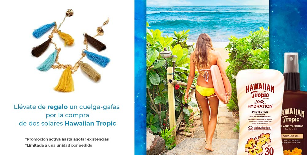 REGALO CUELGA GAFAS HAWAIIAN TROPIC